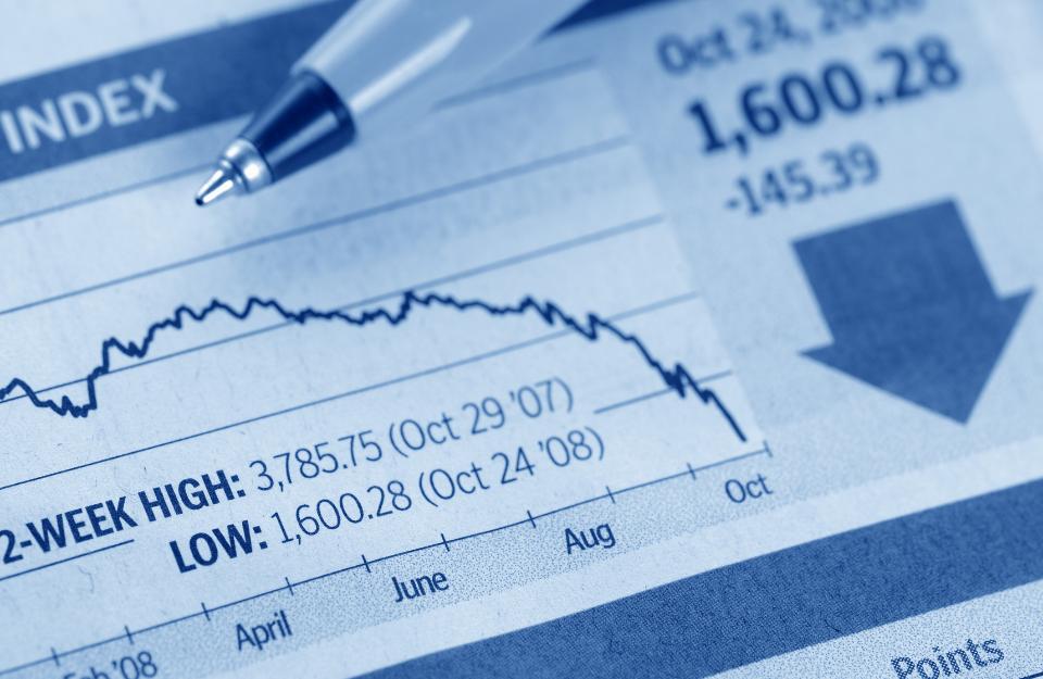 FTSE100 Experiences A Slowdown During An Economic Downturn