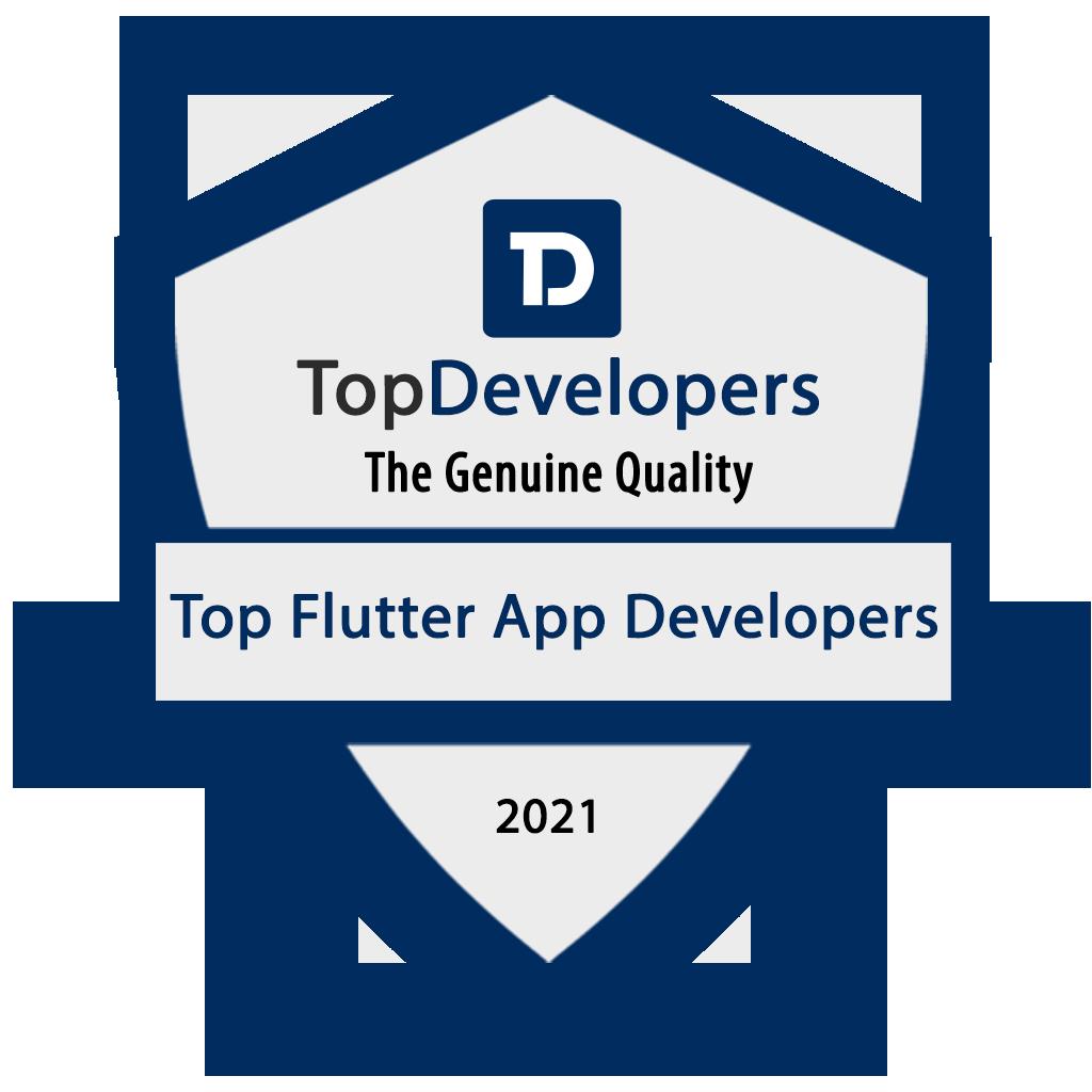 Badge Top Flutter App Development Companies 2021